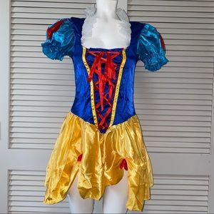 Leg Avenue S/M Blue Snow White Halloween Costume